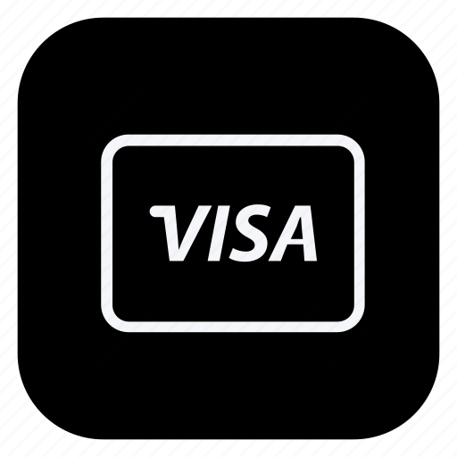 card, finance, money, online, shopping, store, visa card icon