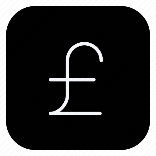 cash, currency, money, online, pound, shopping, store icon