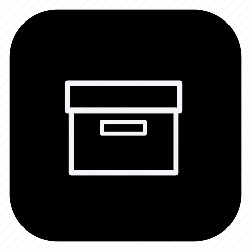 box, finance, money, online, shop, shopping, store icon