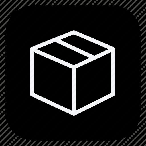 box, finance, money, online, shop, shopping, store icon