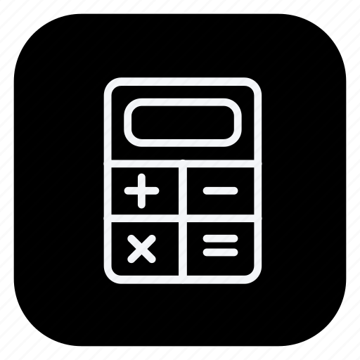 calculator, finance, money, online, shop, shopping, store icon