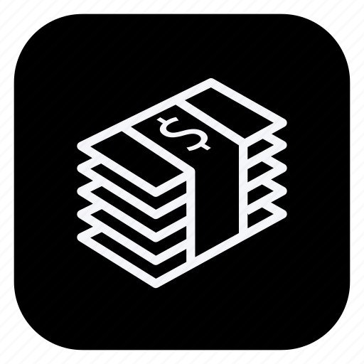 cash, currency, dollar, finance, money, shopping, store icon