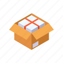 box, container, package, packing, product icon