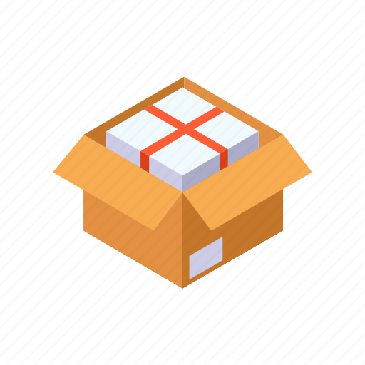 Box, container, package, packing, product icon - Download on Iconfinder