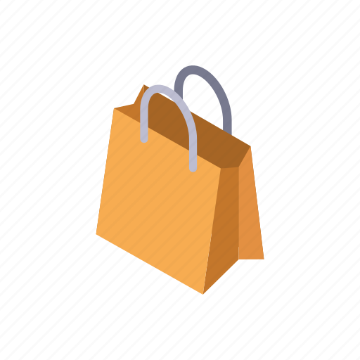 handle, market, merchandise, paper, purchase, shopping bag, store icon