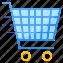 basket, cart, market, shopping