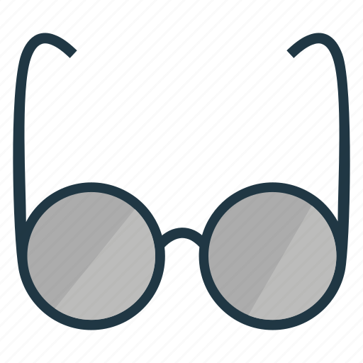 business, glasses, shopping icon