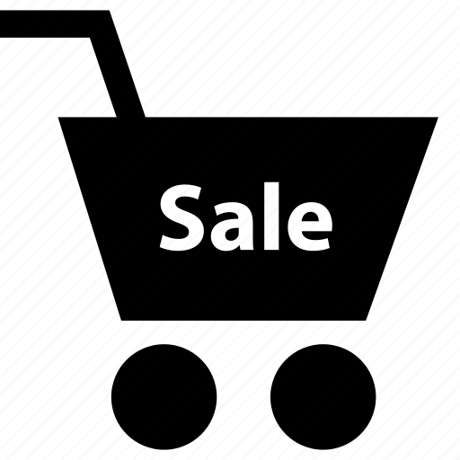 business, cart, sale icon