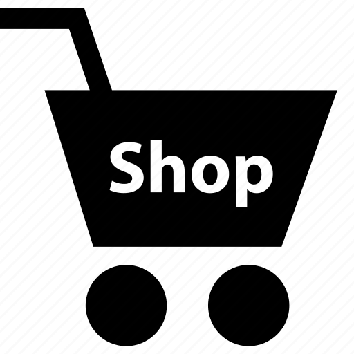 business, cart, shop icon