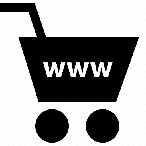 business, cart, www icon