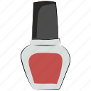 cosmetics, makeup, nail beauty, nail care, nail enamel, nail paint, nail polish icon