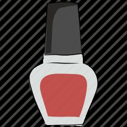 cosmetics, makeup, nail beauty, nail care, nail enamel, nail paint, nail polish icon