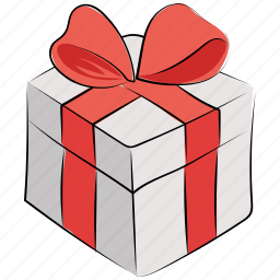 birthday gift, christmas gift, gift, gift box, present, present box, wrapped box icon
