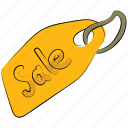 ecommerce, label, sale, sale label, sale tag, shopping tag, tag icon