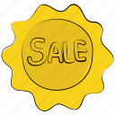 ecommerce, label, sale label, sale sticker, sale tag, shopping tag, tag icon