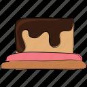 cake, cake pudding, dessert, food, pastry, sweet, sweet dessert icon