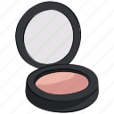 beauty product, blush on, compact powder, cosmetics, face powder, loose powder, makeup icon