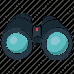 binocular telescope, binoculars, field glass, looking, scope, searching, view icon