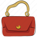bag, hand bag, ladies handbag, ladies purse, purse, shoulder bag, woman hand bag icon