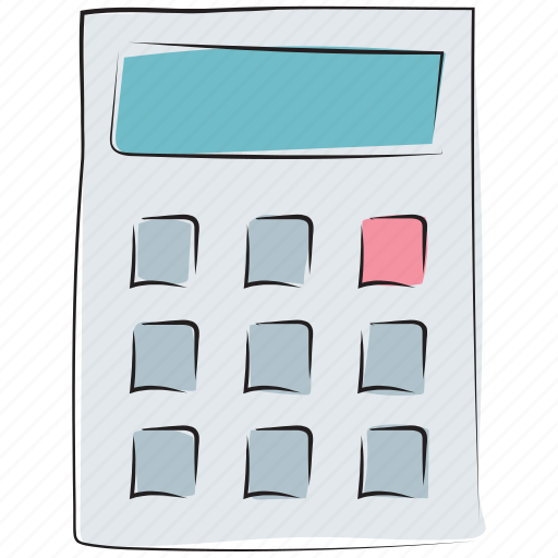 accounting, calculate, calculating device, calculating machine, calculating tool, calculator, mathematics, maths icon