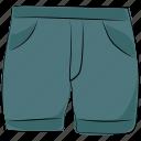 clothing, garments, shorts, swim shorts, swimwear icon