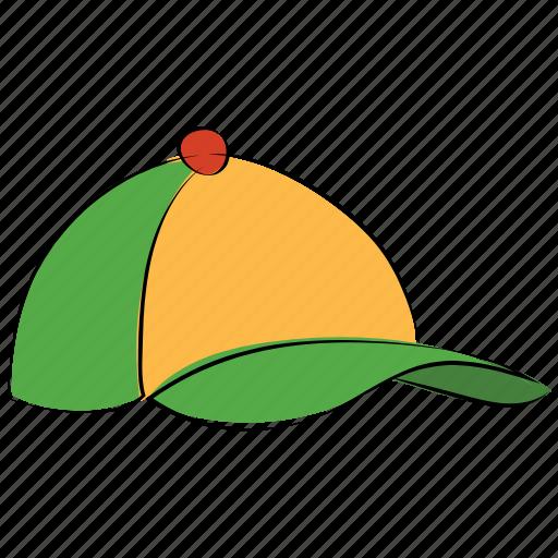 baseball cap, brim, cap, headgear, headwear, sports cap icon