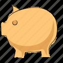 cash bank, cash box, money bank, money box, penny bank, piggy bank