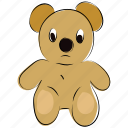 bear, children toys, cuddly toys, kids toys, plush toy, teddy, teddy bear, toy icon