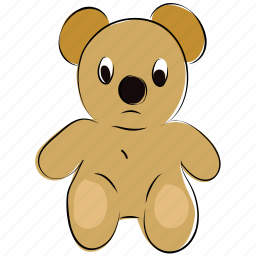 bear, children toys, cuddly toys, kids toys, plush toy, teddy, teddy bear, toy icon