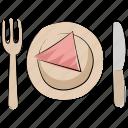 cutlery, dining, flatware, food, fork, knife, meal