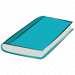 book, guidebook, manual, note book, reading, student book icon