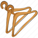 closet, closet hanger, closet organizer, clothes hanger, dress hanging, hanger, wardrobe icon