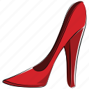 footwear, heel, heel pumps, high heel, ladies footwear, ladies shoes, shoe icon
