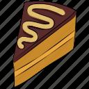 cake, cake slice, dessert, food, sweet icon