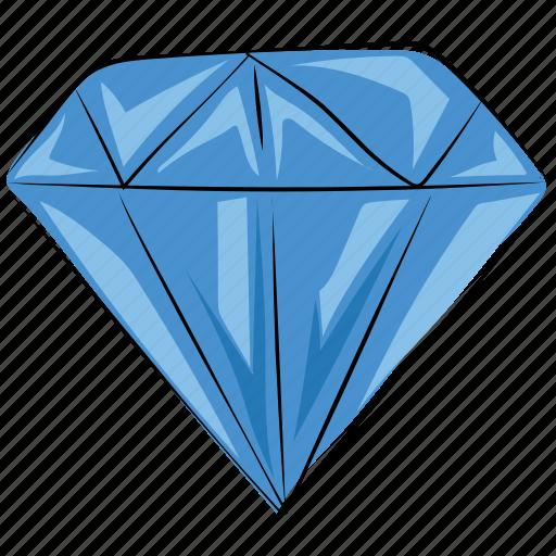 diamond, gem, gemstone, jewel, ruby, ruby stone icon
