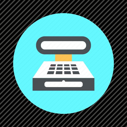 billingmachine, equipment, fax, machine, printer icon