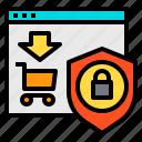 cart, online, protect, website