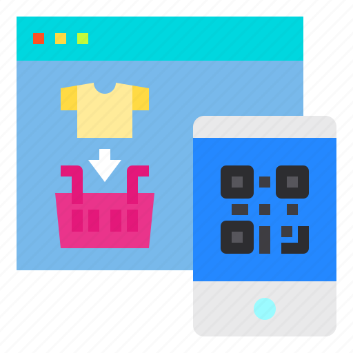 Code, online, payment, qr, shopping, smartphone, website icon - Download on Iconfinder