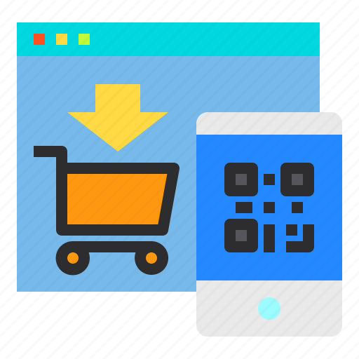 Cart, payment, shopping, smartphone, website icon - Download on Iconfinder