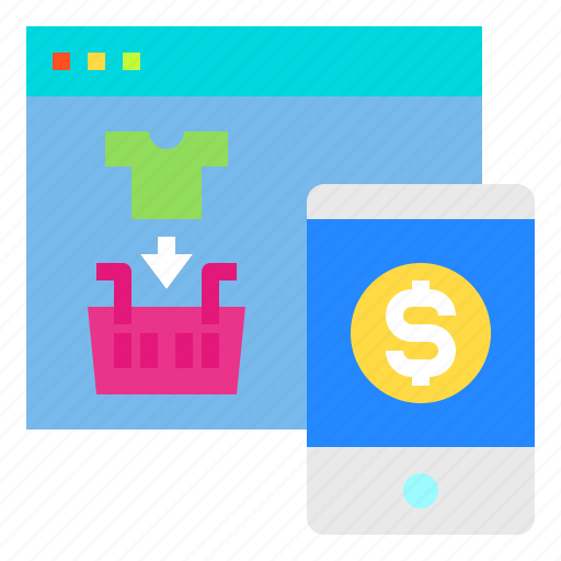 Online, payment, shopping, smartphone, website icon - Download on Iconfinder