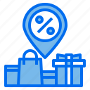bag, discount, pin, shopping