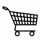 bought, cart, online, online cart, online shopping, shopping, shopping cart icon