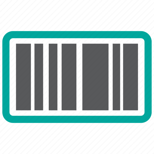 barcode, code, product icon