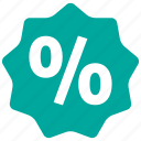 discount, percent, sale icon