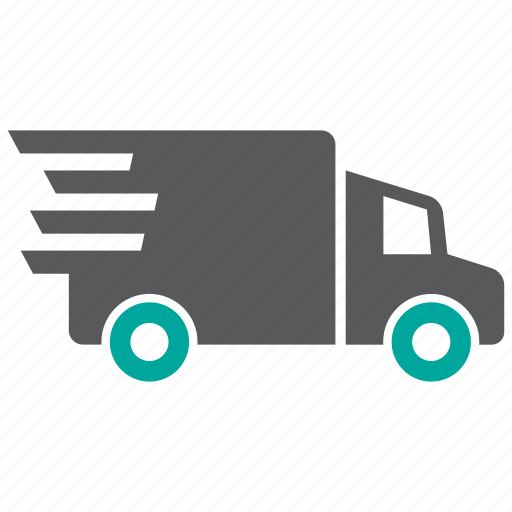 delivery, express, fast icon