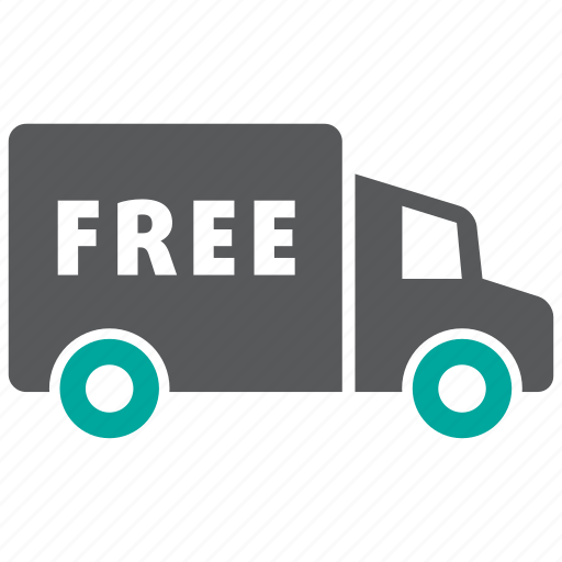 delivery, free, transport icon