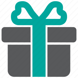 bonus, gift, present icon