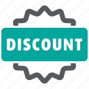 discount, label, offer, sticker