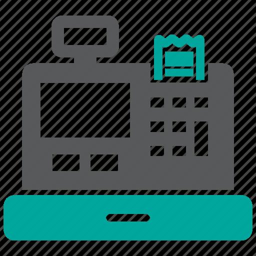 Cash, register, receipt icon - Download on Iconfinder
