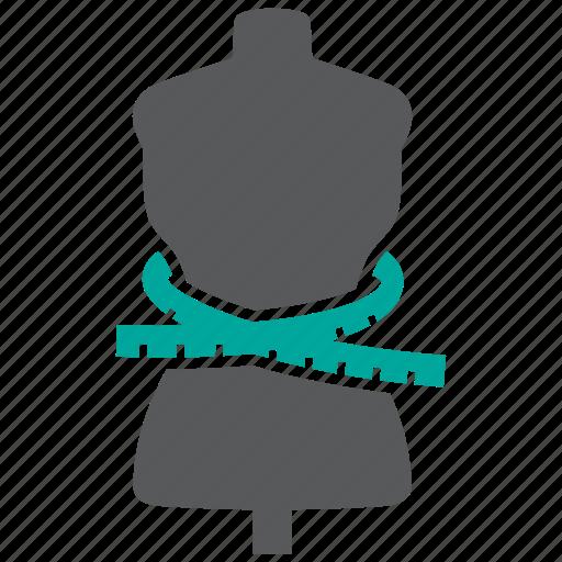 Measurement, body, mannequin icon - Download on Iconfinder